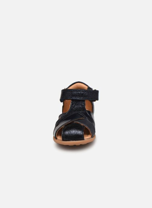 Sandalen Bisgaard Cheri blau schuhe getragen