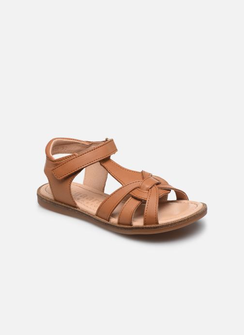 Sandales et nu-pieds Bisgaard Bex Marron vue détail/paire