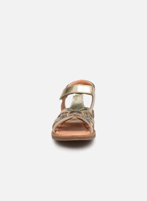 Sandali e scarpe aperte Bisgaard Bex Oro e bronzo modello indossato