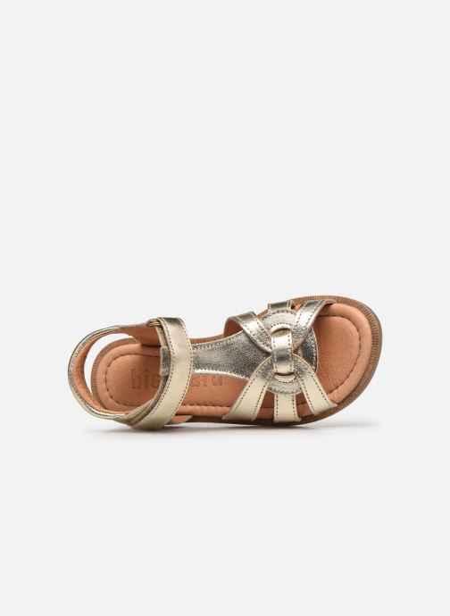 Sandali e scarpe aperte Bisgaard Bex Oro e bronzo immagine sinistra