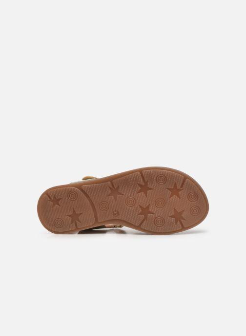 Sandali e scarpe aperte Bisgaard Bex Oro e bronzo immagine dall'alto