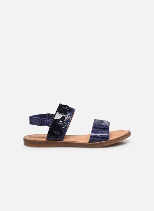 Sandales et nu-pieds Bisgaard Belle Bleu vue derrière