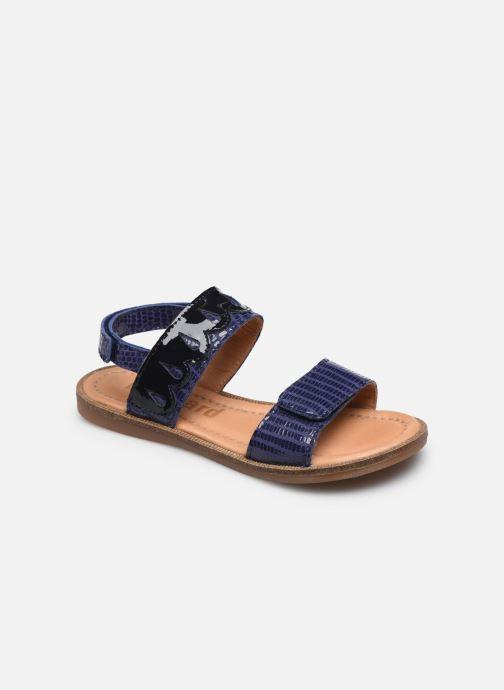 Sandales et nu-pieds Bisgaard Belle Bleu vue détail/paire