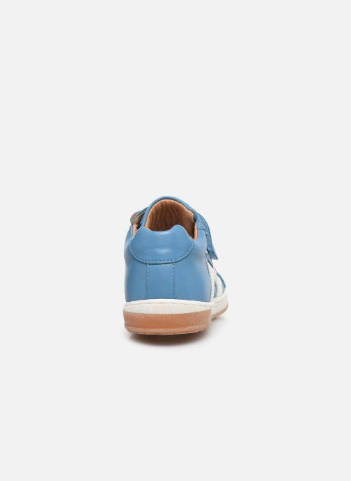 Sneaker Bisgaard Johan blau ansicht von rechts