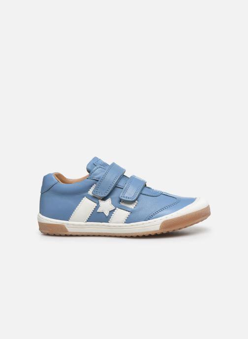 Sneaker Bisgaard Johan blau ansicht von hinten