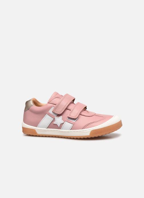 Sneaker Bisgaard Johan rosa ansicht von hinten
