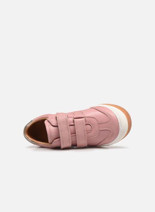 Sneaker Bisgaard Johan rosa ansicht von links