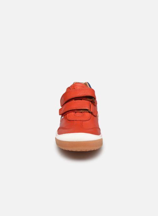 Sneaker Bisgaard Johan rot schuhe getragen