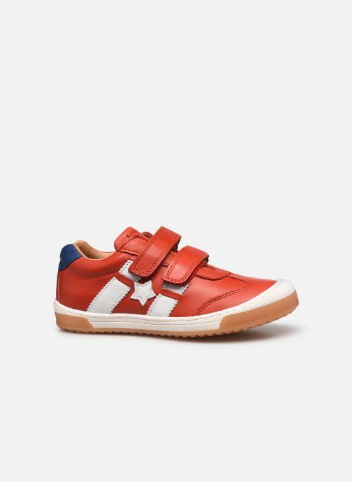 Sneaker Bisgaard Johan rot ansicht von hinten