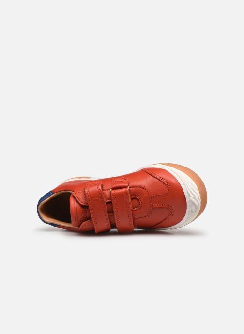 Sneaker Bisgaard Johan rot ansicht von links