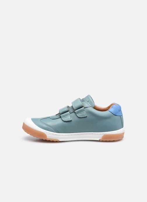Sneaker Bisgaard Johan grün ansicht von vorne