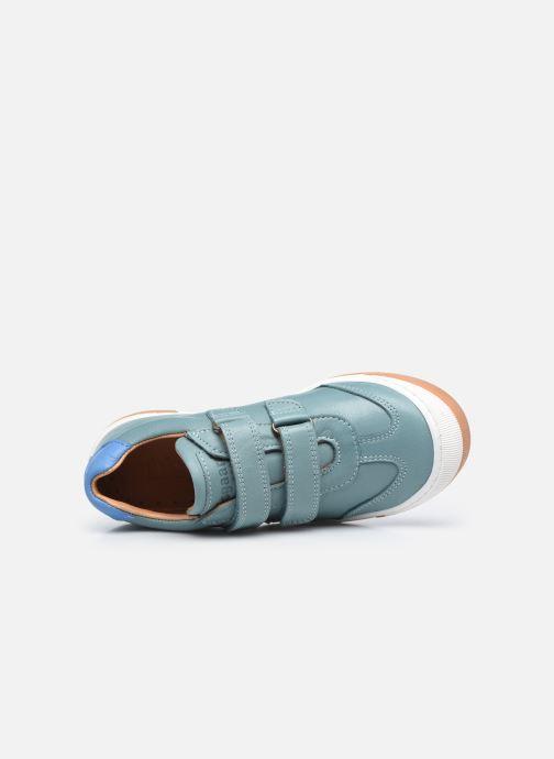 Sneaker Bisgaard Johan grün ansicht von links