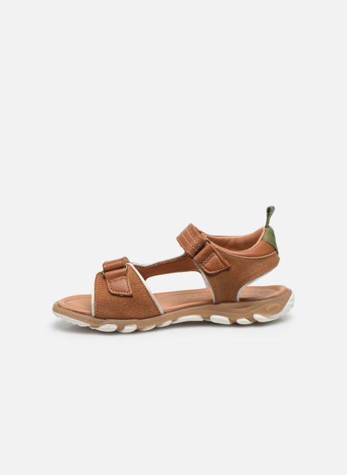 Sandali e scarpe aperte Bisgaard August Marrone immagine frontale