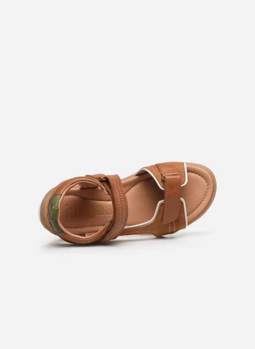 Sandali e scarpe aperte Bisgaard August Marrone immagine sinistra