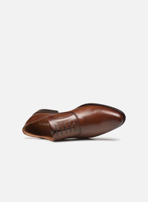 Scarpe con lacci Marvin&Co Riverstone Marrone immagine sinistra