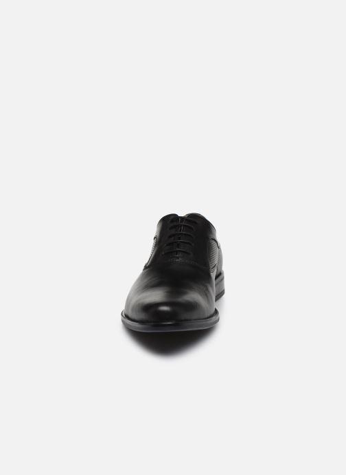 Schnürschuhe Marvin&Co Riverstone schwarz schuhe getragen