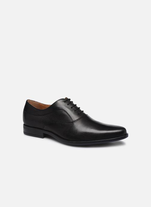 Chaussures à lacets Marvin&Co Riverstone Noir vue détail/paire
