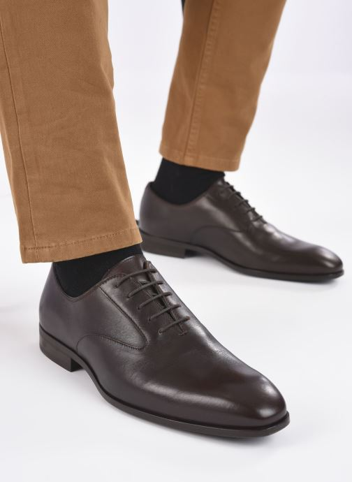Zapatos con cordones Marvin&Co Realo Marrón vista de abajo