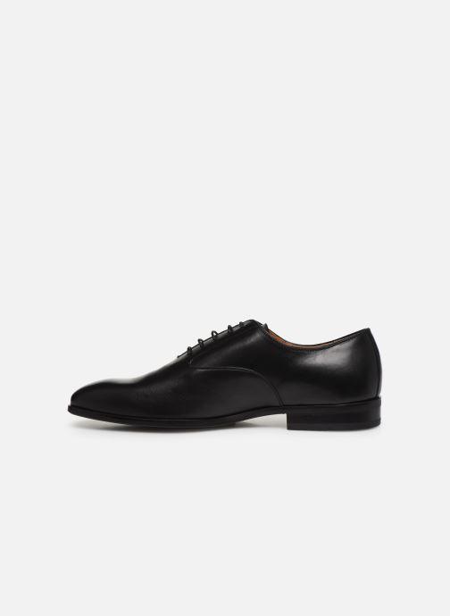 Zapatos con cordones Marvin&Co Realo Negro vista de frente