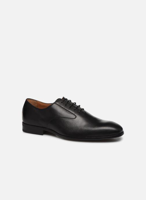 Zapatos con cordones Marvin&Co Realo Negro vista de detalle / par