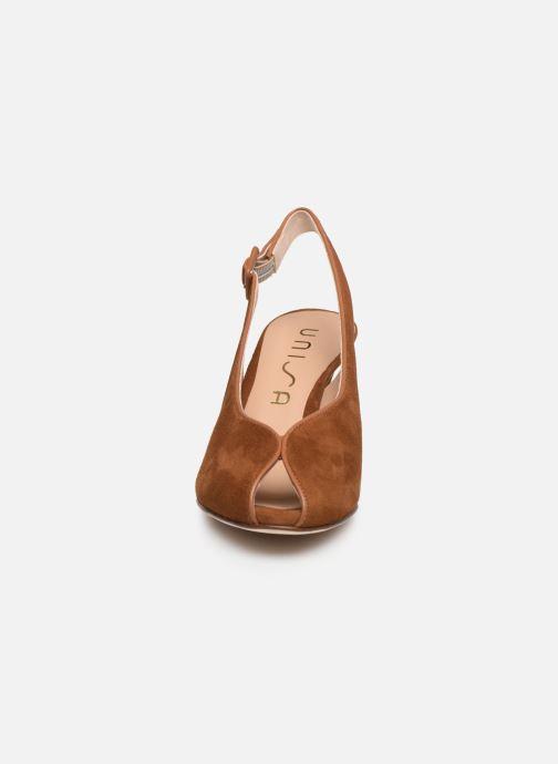Zapatos de tacón Unisa LOBATO Marrón vista del modelo