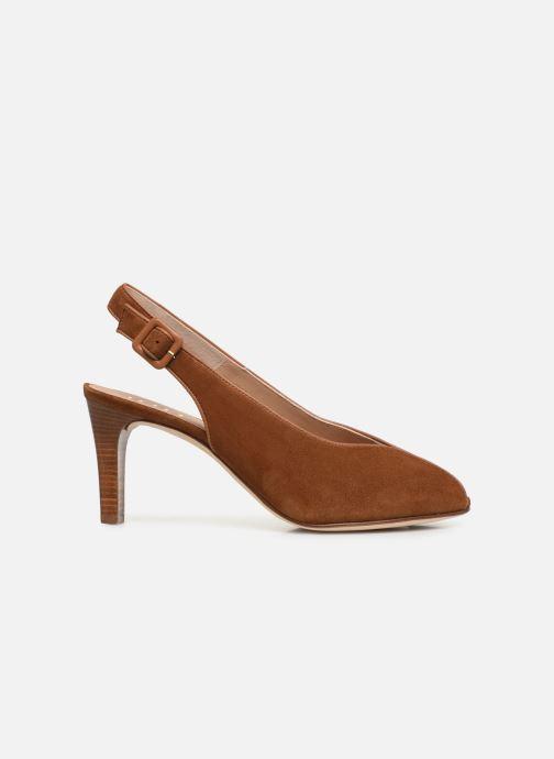 Zapatos de tacón Unisa LOBATO Marrón vistra trasera
