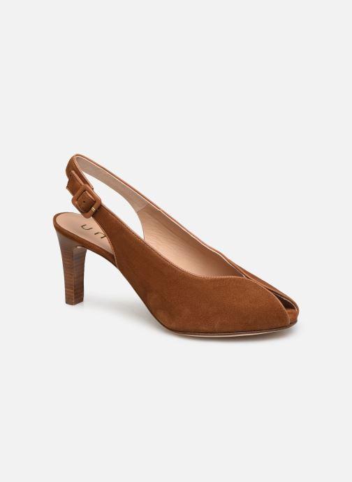 Zapatos de tacón Unisa LOBATO Marrón vista de detalle / par