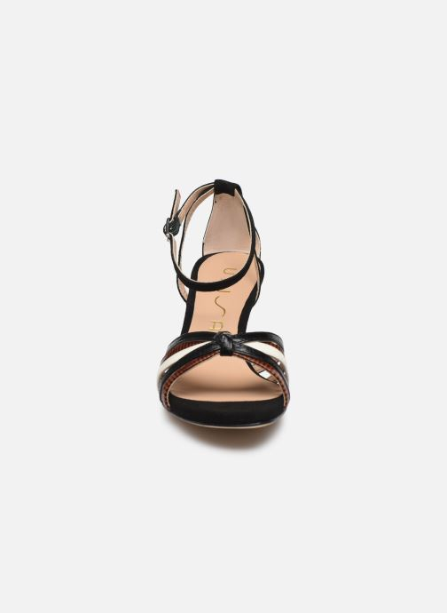 Sandali e scarpe aperte Unisa MANUR Nero modello indossato