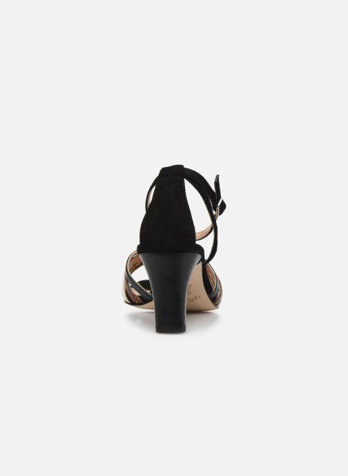 Sandales et nu-pieds Unisa MANUR Noir vue droite