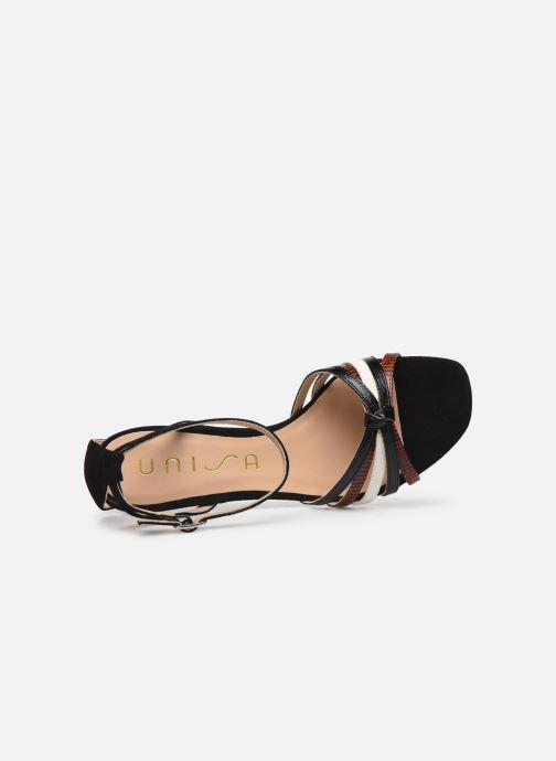 Sandales et nu-pieds Unisa MANUR Noir vue gauche