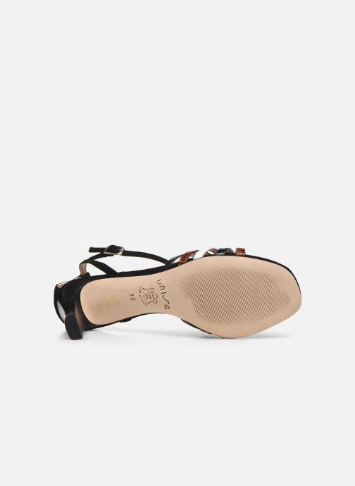 Sandali e scarpe aperte Unisa MANUR Nero immagine dall'alto