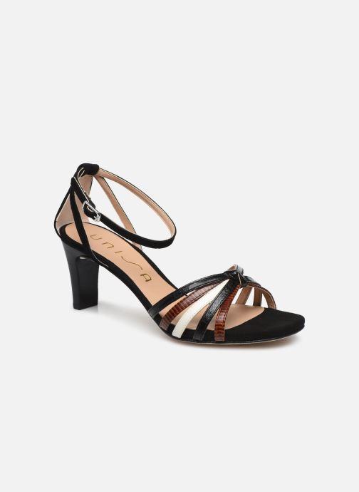 Sandales et nu-pieds Unisa MANUR Noir vue détail/paire