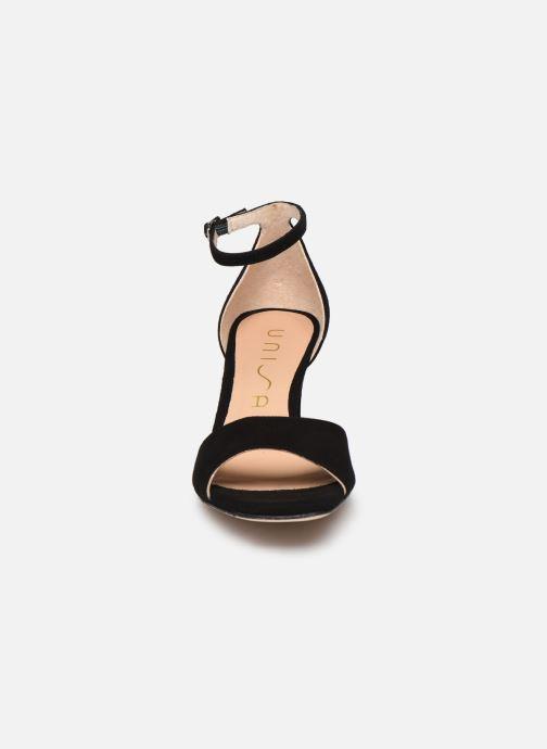 Sandales et nu-pieds Unisa MIDAS Noir vue portées chaussures