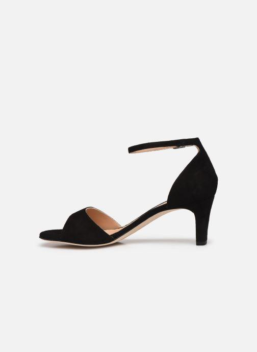 Sandales et nu-pieds Unisa MIDAS Noir vue face