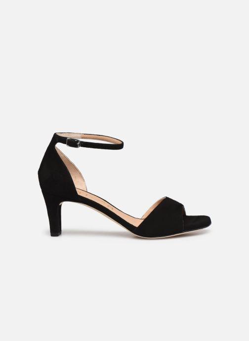 Sandales et nu-pieds Unisa MIDAS Noir vue derrière