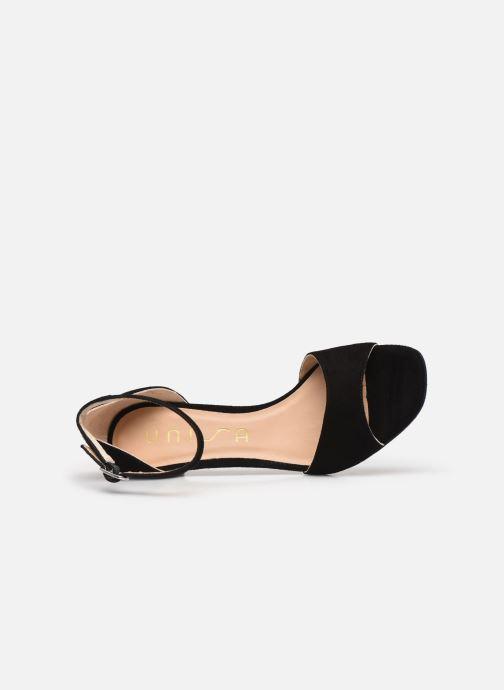 Sandales et nu-pieds Unisa MIDAS Noir vue gauche