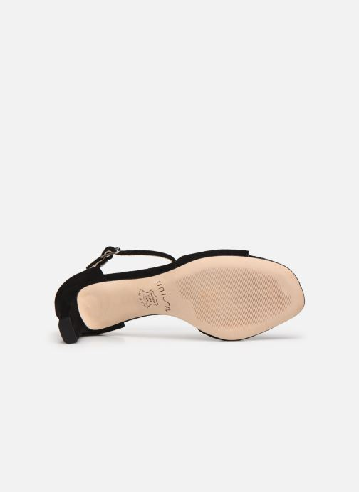 Sandales et nu-pieds Unisa MIDAS Noir vue haut