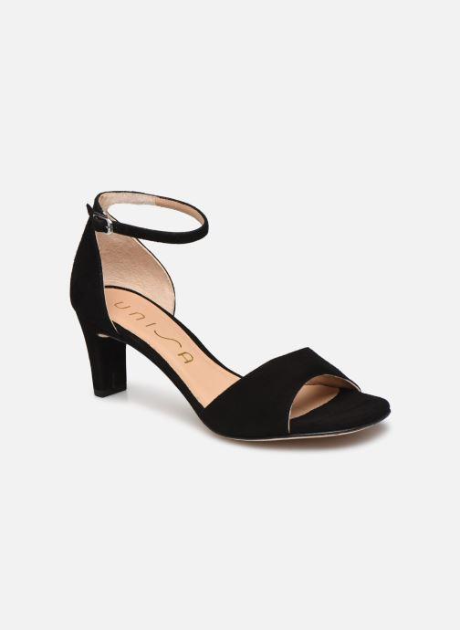 Sandales et nu-pieds Unisa MIDAS Noir vue détail/paire