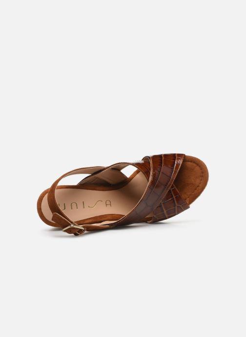 Scarpe di corda Unisa MIGUEL Marrone immagine sinistra