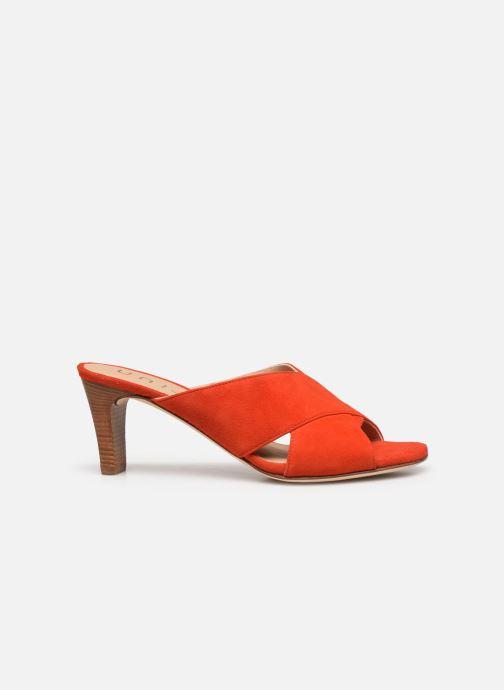 Clogs & Pantoletten Unisa MOTRIL orange ansicht von hinten