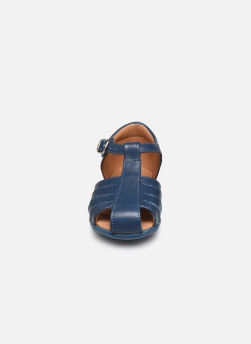Sandali e scarpe aperte Cendry Jean Azzurro modello indossato