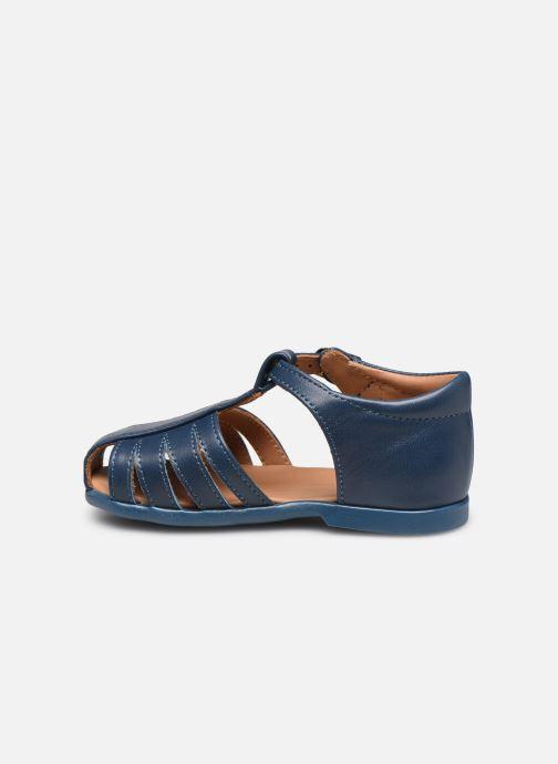 Sandalias Cendry Jean Azul vista de frente