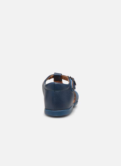 Sandali e scarpe aperte Cendry Jean Azzurro immagine destra