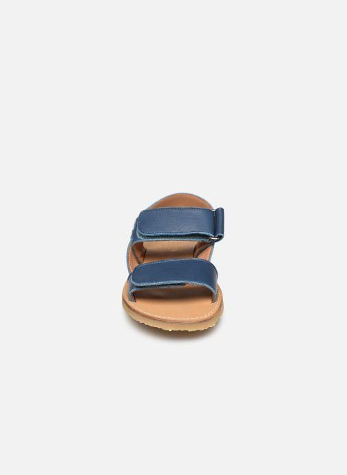 Sandali e scarpe aperte Cendry Leon Azzurro modello indossato