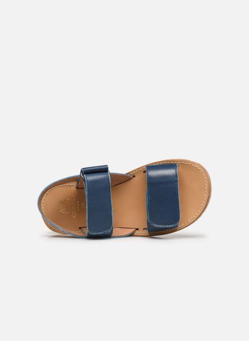 Sandali e scarpe aperte Cendry Leon Azzurro immagine sinistra