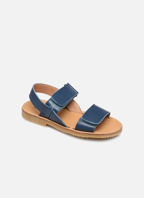 Sandales et nu-pieds Cendry Leon Bleu vue détail/paire