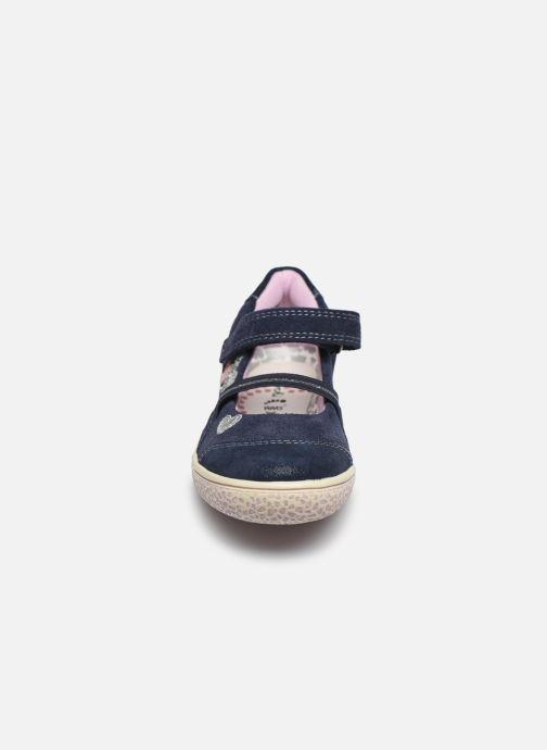 Ballerines Lurchi by Salamander Taeko Bleu vue portées chaussures