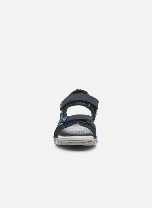 Sandales et nu-pieds Lurchi by Salamander Bennet Bleu vue portées chaussures