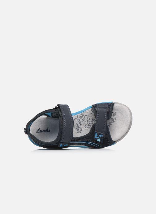 Sandales et nu-pieds Lurchi by Salamander Bennet Bleu vue gauche
