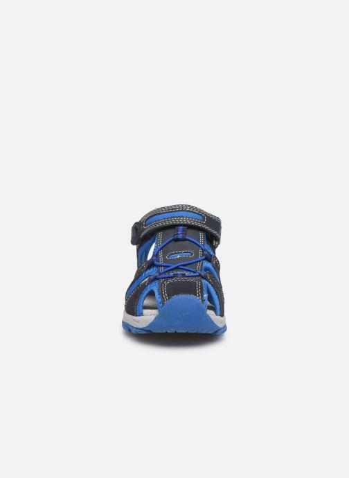 Sandales et nu-pieds Lurchi by Salamander Boris Bleu vue portées chaussures